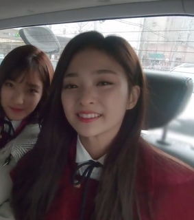 lee saerom, fromis and icon