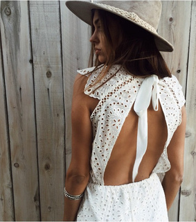 spring, broderie lace dress and indie