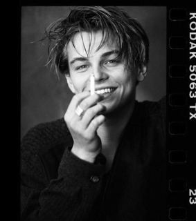 leo love, 90s and black and white
