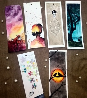 bookmark, draw and artists