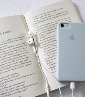 book, accessories and read