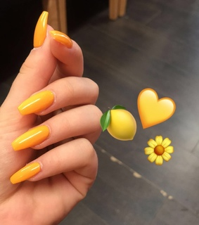 yellow nails, acrylic nail inspo and acrylic nails