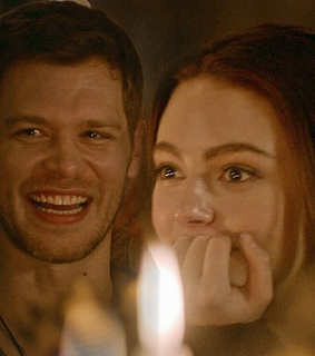klaus mikaelson, danielle russell and hope mikaelson