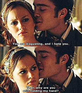then why are you still, leighton meester and charles bass