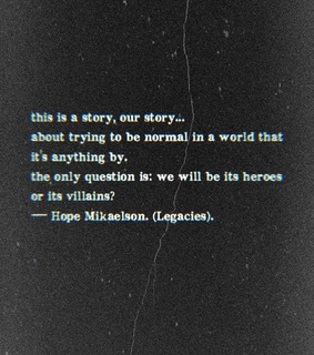 hope mikaelson, the originals and quotes