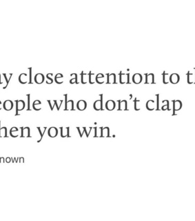 advice, attention and win
