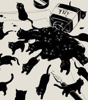 kittens, cats and drawing
