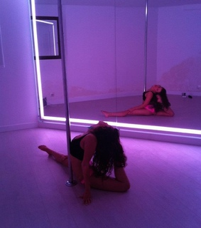 pole dancing, flexible and ballet