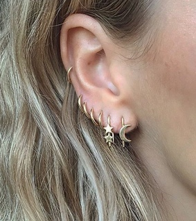 beautiful, style and piercings
