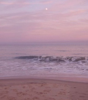 dusk, lavender and periwinkle
