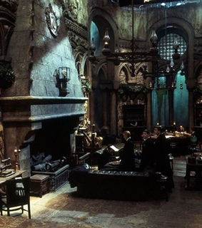 slytherin, harry potter and common room