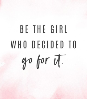 motivation, quote and girl power