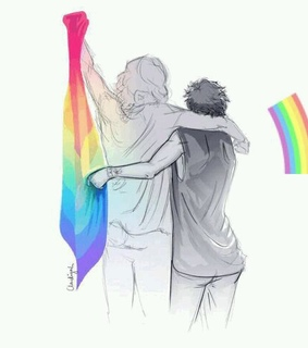 larry is real, rainbow and lgbtq