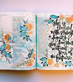 bible journaling, faith and journaling