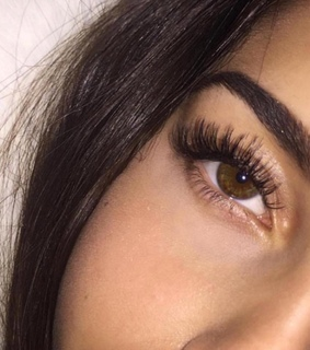 lash extensions, lashes and eyes