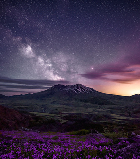 night sky, sky photography and scenery