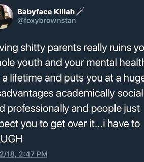 mental health, parents and toxic