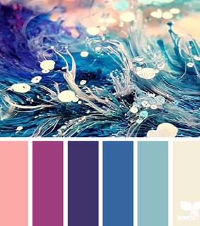 purple, color and blue