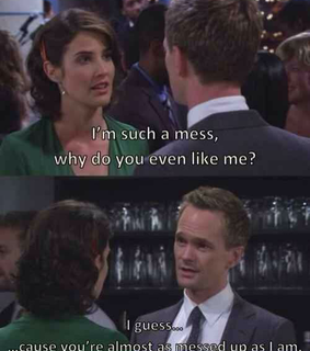barney stinson, lily and robin