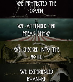 freak show, serie and murder house