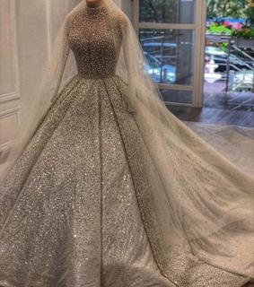 wedding gown, wedding dress and prom