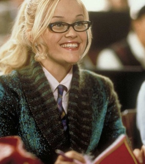 reese witherspoon, glasses and law school