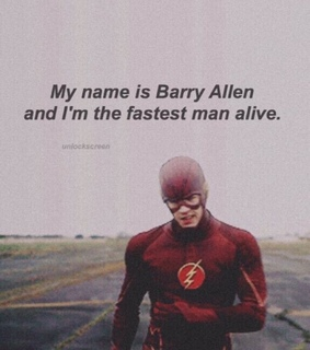 flash, barry allen and grant gustin