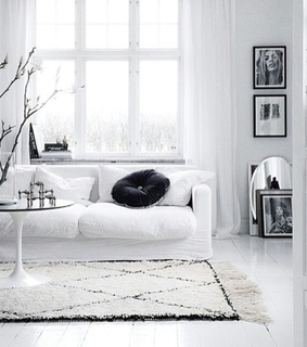 white decor, interior and decor