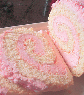 frosting, swiss and pink