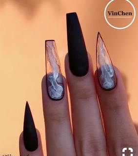 to, seethrough and nails
