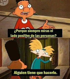 caricaturas, personas and hey arnold