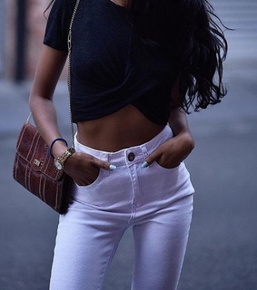 hair, travel and white pants