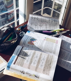 finals, work harder and stationery