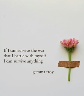 strong, flower and gemma troy