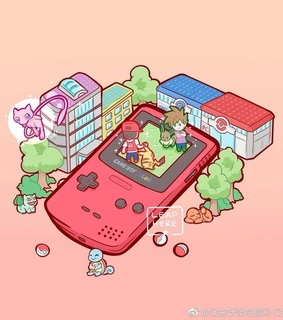 squirrel, pokemon and red