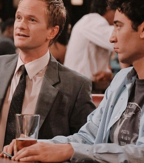 barney, how i met your mother and ted