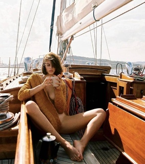 yacht, indie girl and luxury