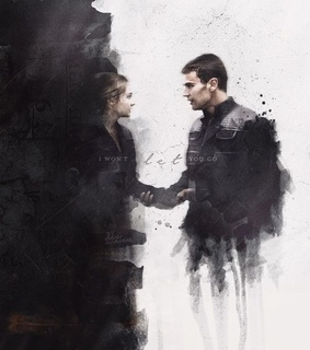 divergent, theo james and shailene woodley