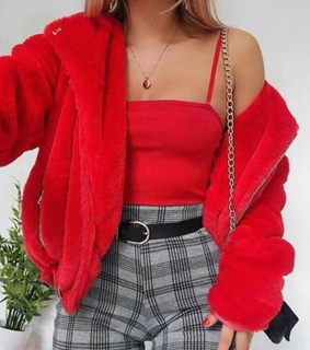 fashion, goals and red top