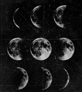 phases, draw and moon