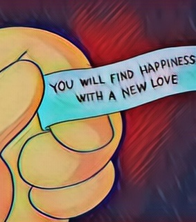 fortune, edit and the simpsons