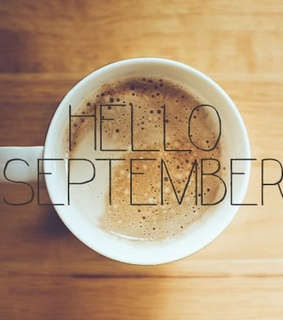 september, coffeeholic and hello