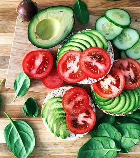foods, cucumber and tomatoes