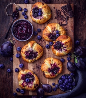 lovely, food photography and blueberries