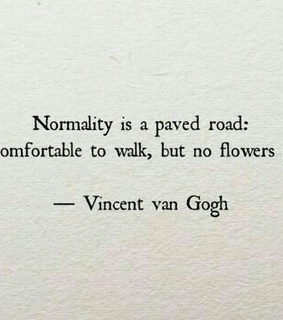 normality, paint and unique