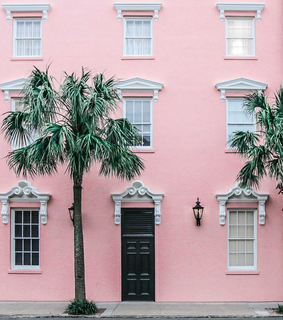 inspiration, aesthetic and pink house