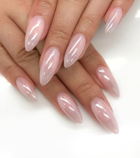 pink, rosd and nails