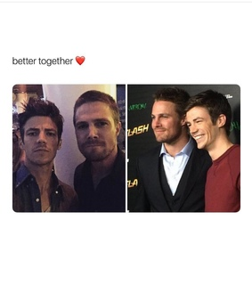 green arrow, arrow and the flash and barry allen