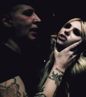 taylor momsen, the pretty reckless and marilyn manson