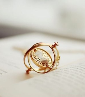 aesthetic, time turner and hermione
